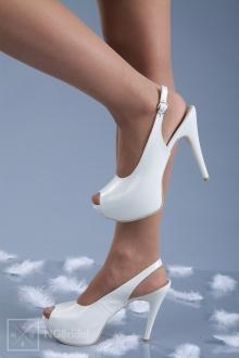 Обувка с 12 см ток - 1201